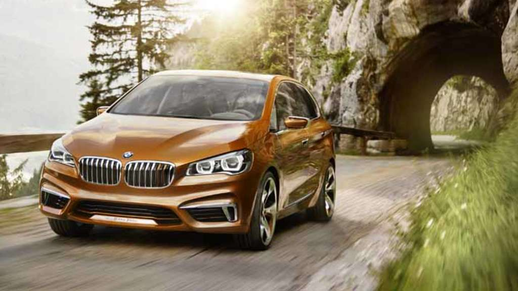 BMW Active Tourer Outdoor Van Studie