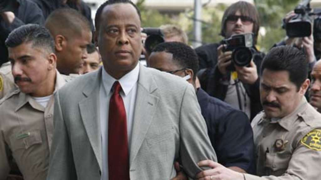 Conrad Murray war Michael Jacksons Leibarzt