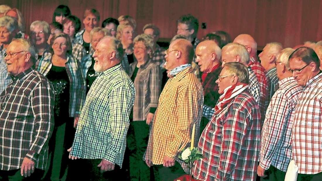 Viel Beifall heimsten die Sänger des MGV Harmonie Bremen bei ihren Auftritten am Wochenende ein.
