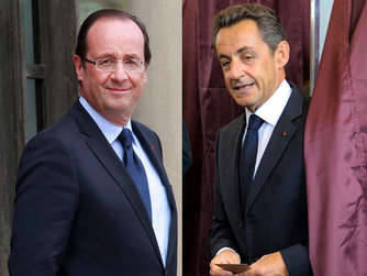 Hollandes top - Sarkozy flop