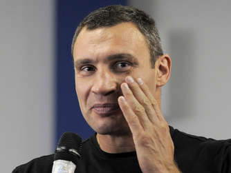 Klitschko deutet Karriereende an