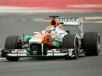 Sutil glänzt bei Comeback im Force India