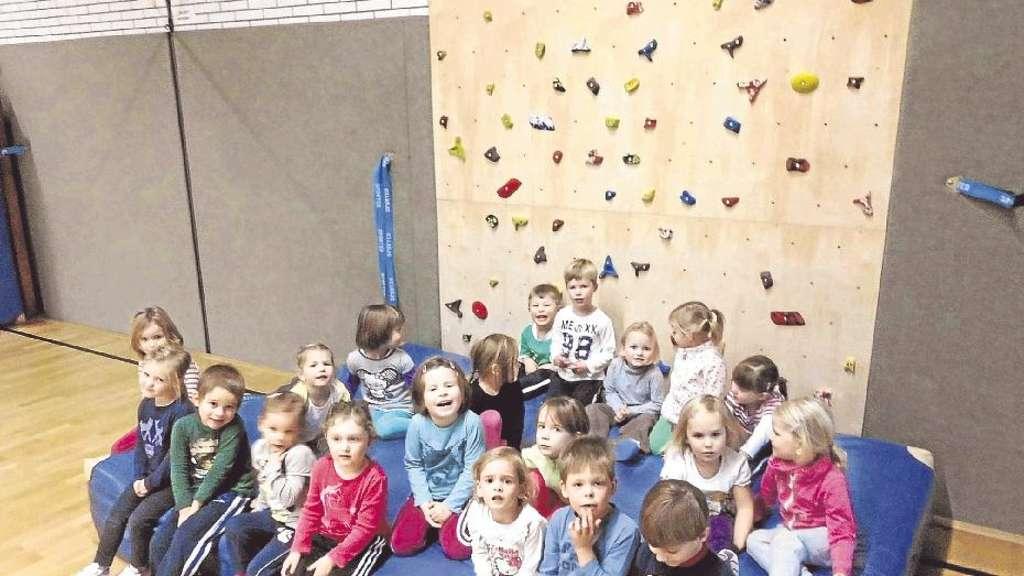 Kletterwand für Kinder | Bestwig