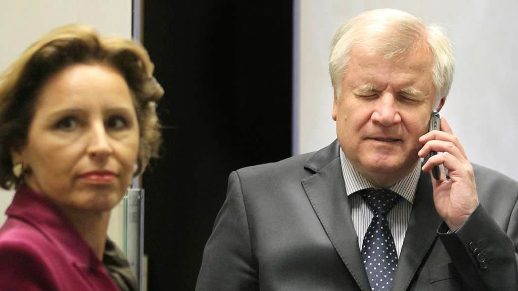 Christine Haderthauer, Horst Seehofer