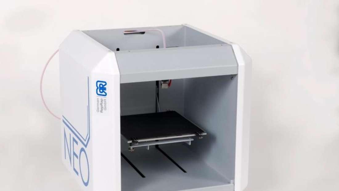 Günstiger Drucker für Einsteiger: Der Neo 3D-Drucker druckt kleine Objekte in guter Qualität (699 Euro). Foto: German RepRap