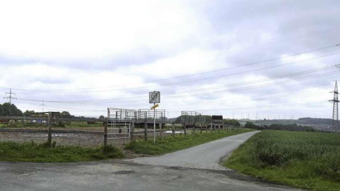 """Die Umwandlung der ehemaligen Fläche für Landwirtschaft in eine Fläche für Wohnungsbau am """"Hohlberg"""" rückt näher."""