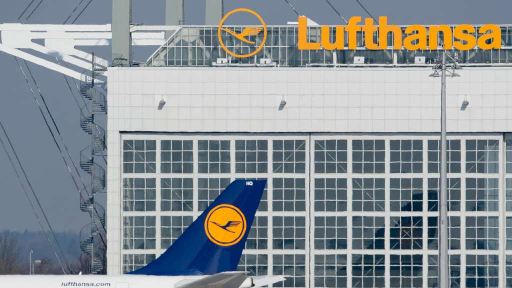 Lufthansa Air France Lotsenstreik