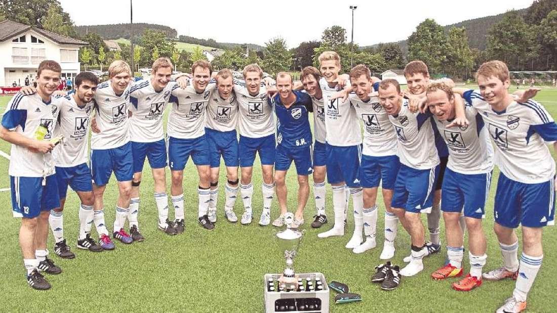 Sieger des Sportwochenendes beim VfL Fleckenberg um den Richard-Sprenger-Cup wurde die Mannschaft des SV Dorlar/Sellinghausen.