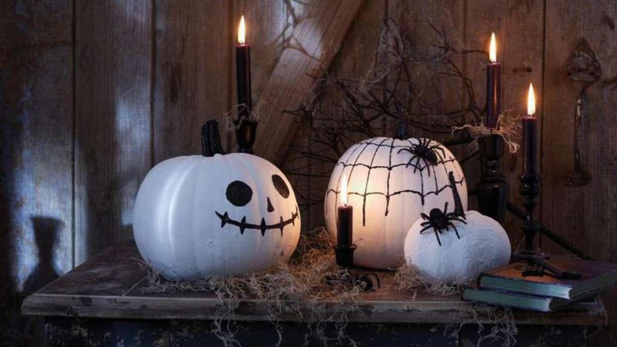 Jack in der laterne dekoration f r halloween basteln - Dekoration kino ...