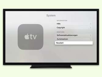 Apple-TV neu starten