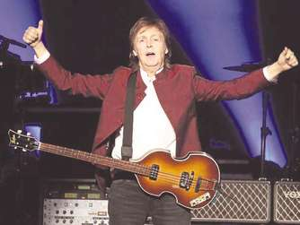 Paul McCartney spielt in Düsseldorf