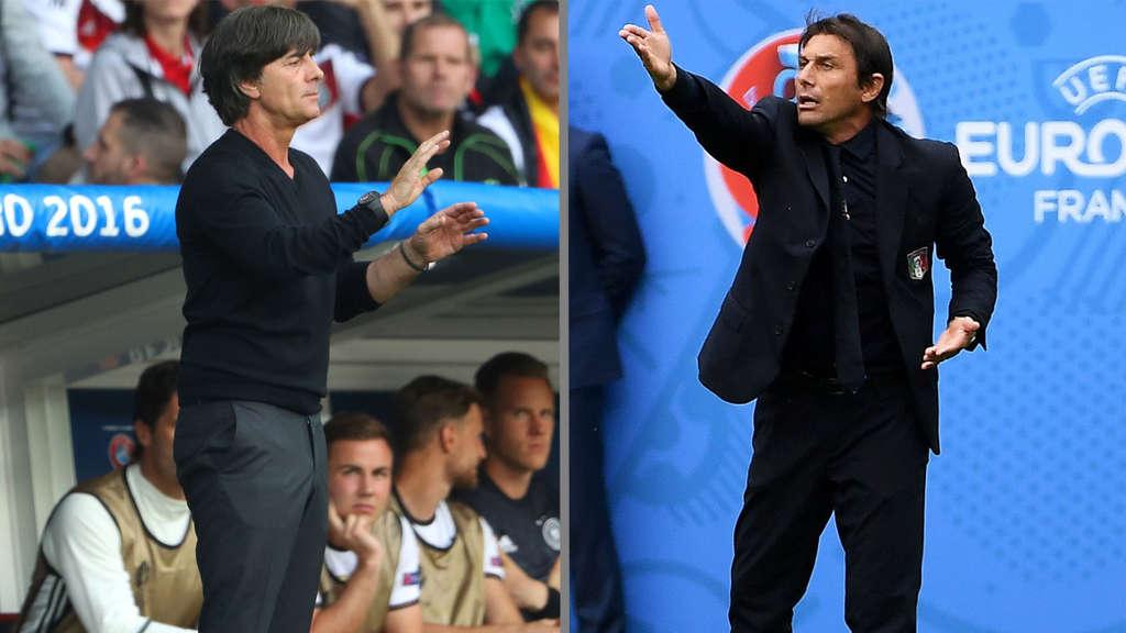 Em 2016 Stimmen Vor Dem Viertelfinale Deutschland Gegen Italien