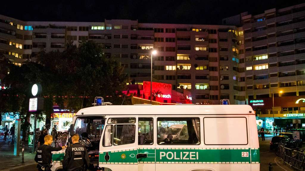 Polizeieinsatz in Berlin-Kreuzberg