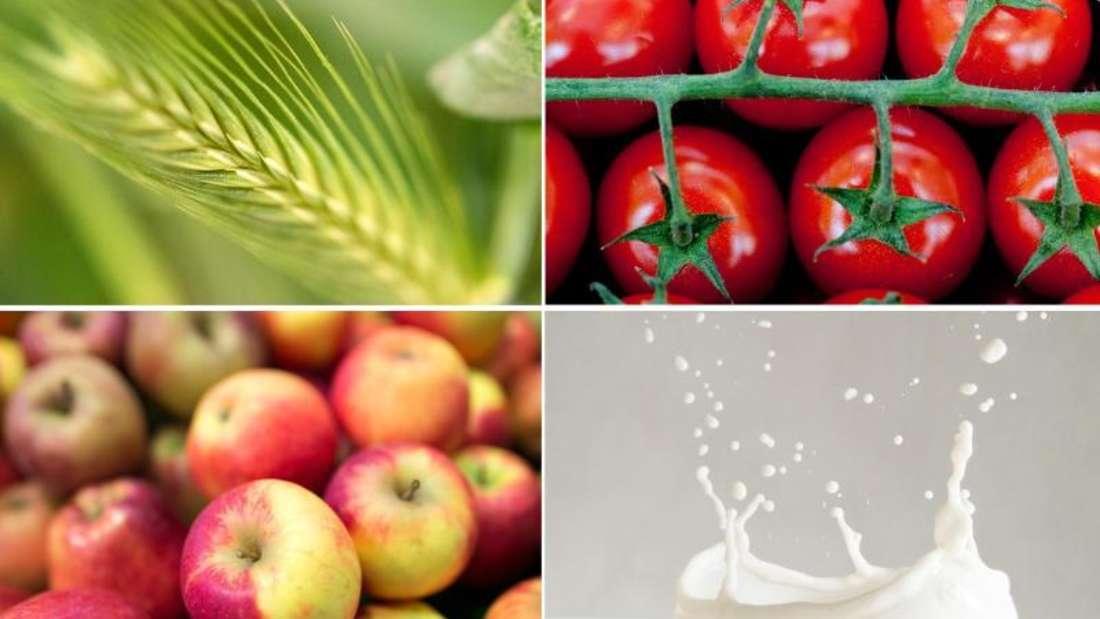 Gluten, Histamin, Fructose, Lactose: Bei Nahrungsmittelunverträglichkeiten ist es nicht ganz leicht, den richtigen Auslöser zu finden. Fotos: dpa-tmn Foto: dpa-tmn