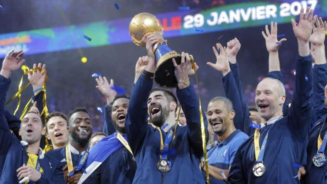 Frankreich wurde zum sechsten Mal Handball-Weltmeister.Foto: Michel Euler