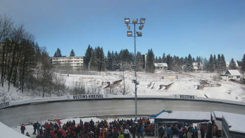 In Winterberg bricht die Eiszeit herein