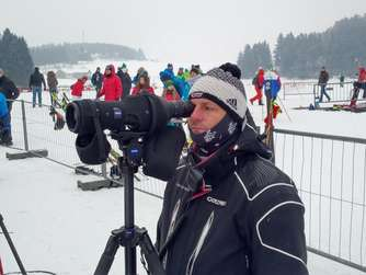 Trainer Bernhard Kröll war beim Winterwettkampf in Willingen