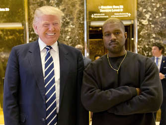 US-Rapper Kanye West feiert Donald Trump mit neuem Song