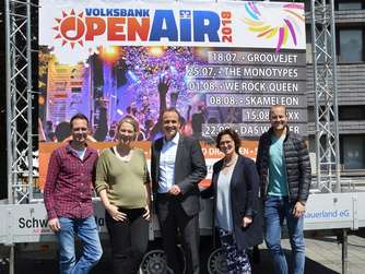 Volksbank Open-Air in Meschede geht ab 18. Juli in neue Runde