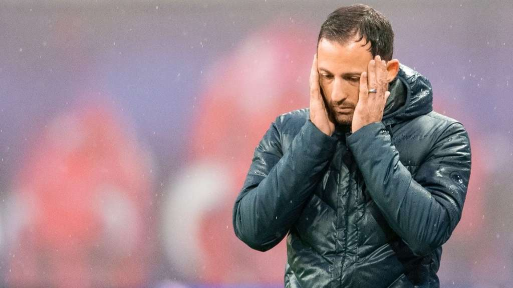 Schalkes Trainer Domenico Tedesco.