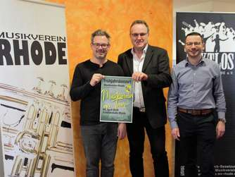 """Musikverein on Tour"": Rhoder Musiker laden zum Konzert"