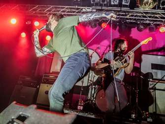 Konzert der Band Idles in der Kölner Live Music Hall