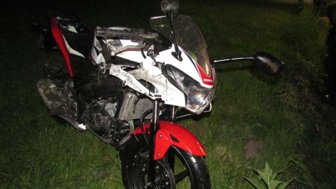 Motorradunfall auf der B229 zwischen Hachen und Müschede