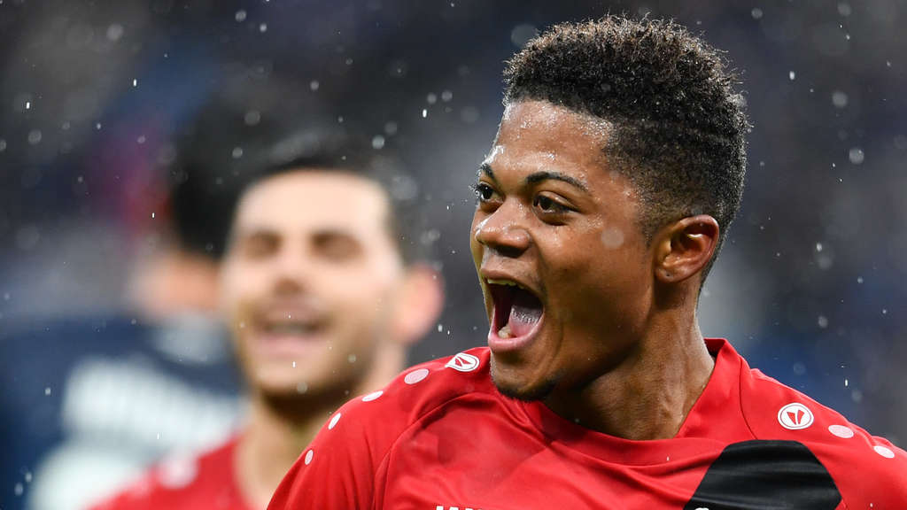 Leverkusen-Star Leon Bailey.