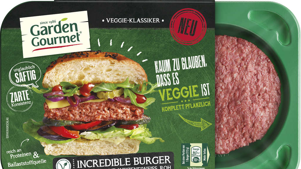 "NORMA nimmt fleischlosen ""Incredible Burger"" ins Sortiment"