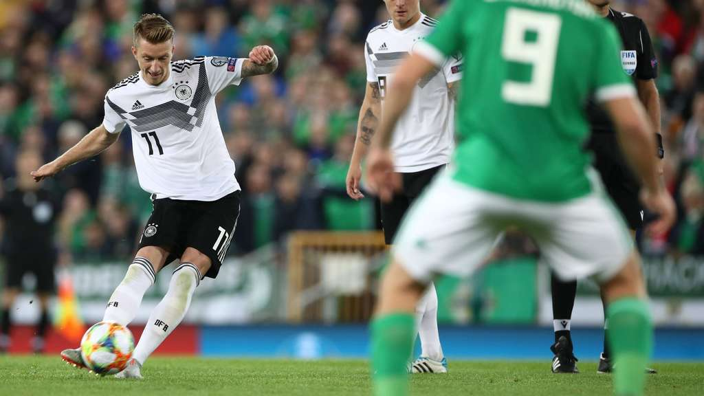 Live-Ticker: Deutschland in der EM-Qualifikation in Nordirland gefordert