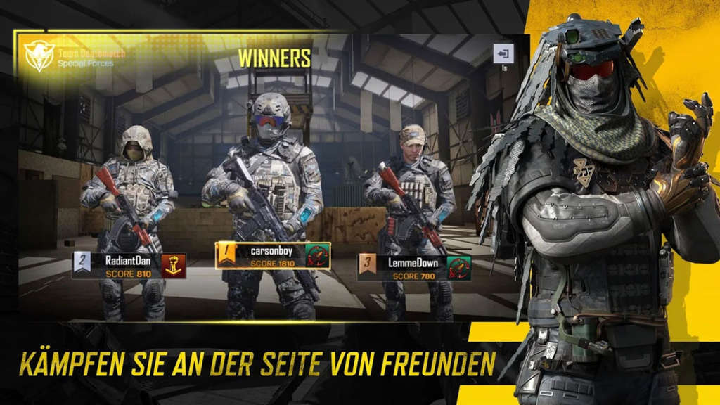 """Call of Duty Mobile"" Multiplayer"