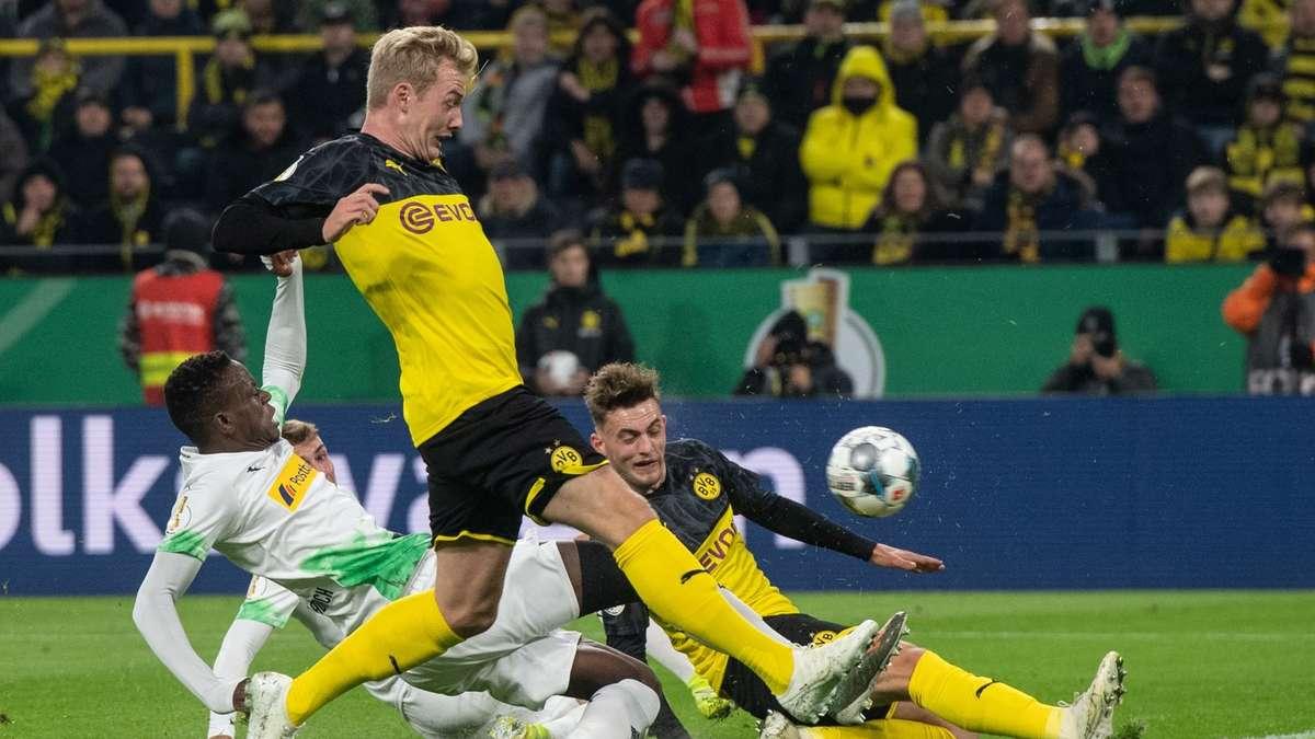 Schalke Gegen Borussia Mönchengladbach