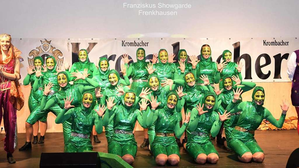 Party zum Sessionsbeginn mit Prinzenproklamation in Frenkhausen