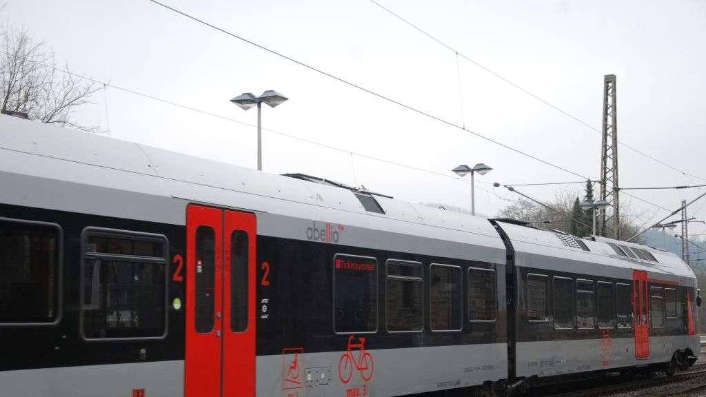 Zugstrecke Gesperrt
