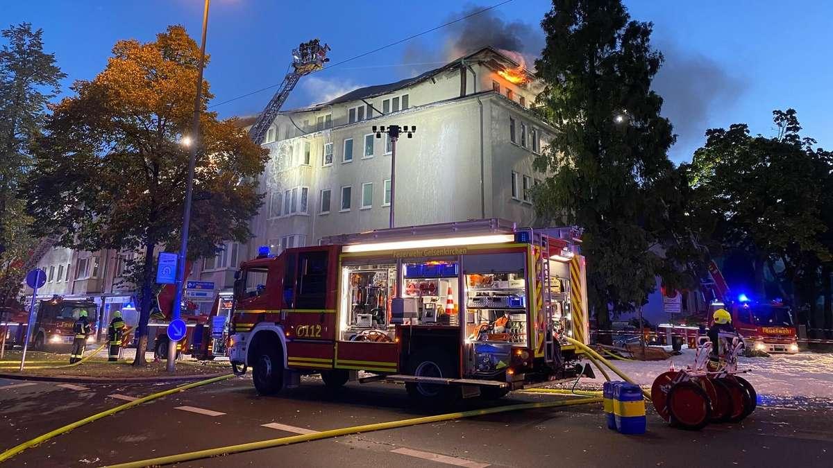 Brand In Gelsenkirchen