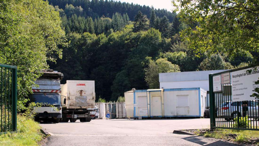 Recyclinghof Hansestadt Attendorn Müll Entsorgung